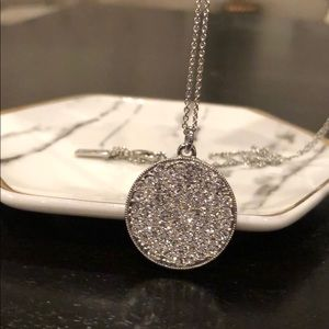 Kate Spade ♠️ Silver Pave Necklace